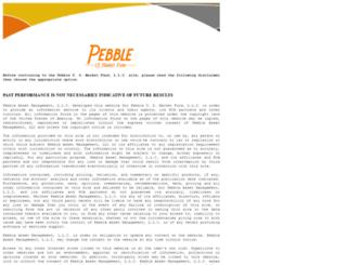 pebbleus.com screenshot