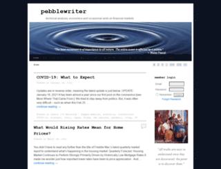 pebblewriter.com screenshot