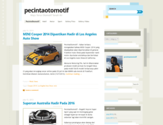 pecintaotomotif.wordpress.com screenshot