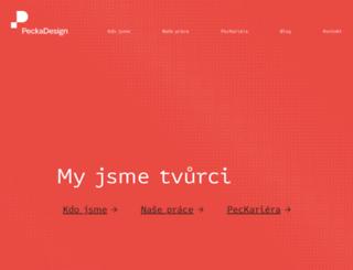 peckadesign.cz screenshot