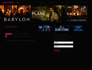 peckhamplex.com screenshot