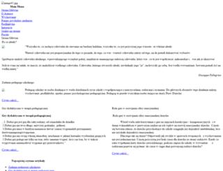 pedagog.lomza.pl screenshot