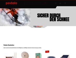 pedalo.de screenshot