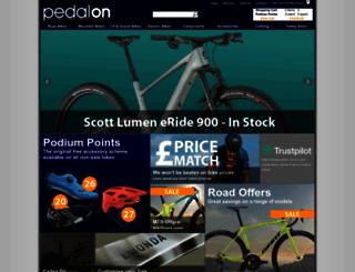 pedalon.co.uk screenshot