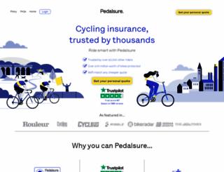 pedalsure.com screenshot