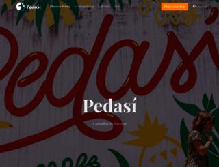 pedasi.com screenshot