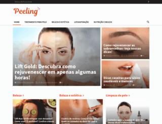 peelings.com.br screenshot