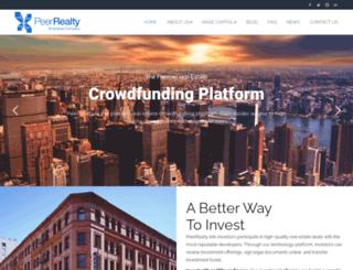 peerrealty.com screenshot
