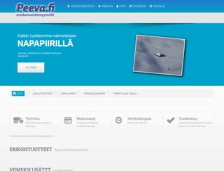 peeva.fi screenshot