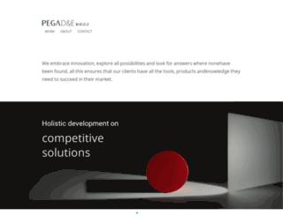 pegadesign.com screenshot
