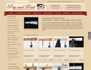 pegandrail.com screenshot