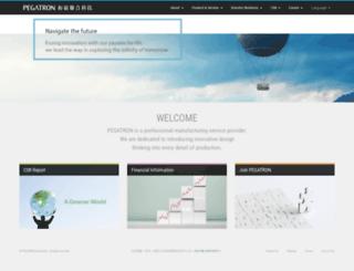 pegatroncorp.com screenshot
