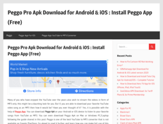 peggoapp.org screenshot