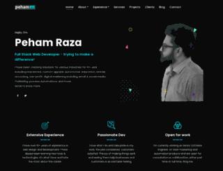 pehamraza.com screenshot