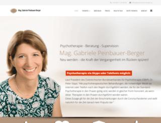 peinbauer-berger.at screenshot