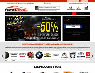 peinturevoiture.fr screenshot