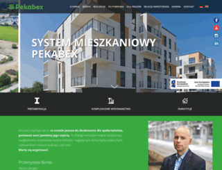 pekabex.pl screenshot