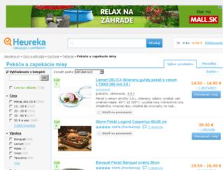 pekace-zapekacie-misy.heureka.sk screenshot