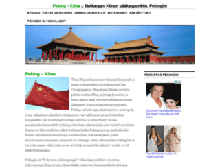 peking.fi screenshot