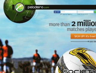 peladeiro.com.br screenshot