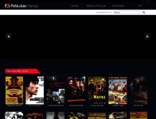 peliculasmaniac.com screenshot