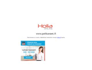 pelikoneet.fi screenshot