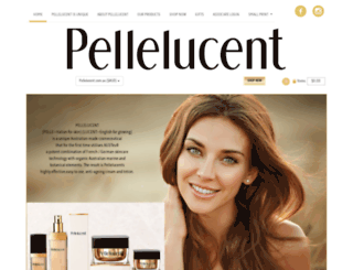 pellelucent.com.au screenshot