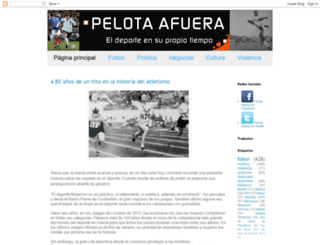 pelotaafuera.blogspot.co.uk screenshot