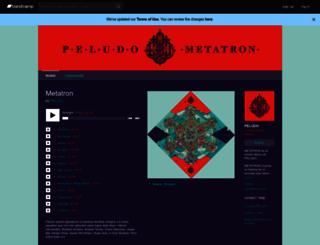 peludo.bandcamp.com screenshot