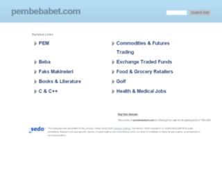pembebabet.com screenshot