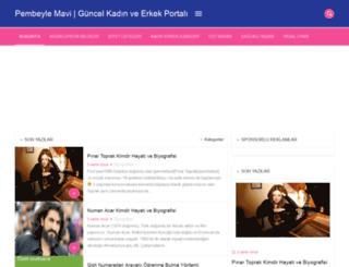 pembeylemavi.com screenshot
