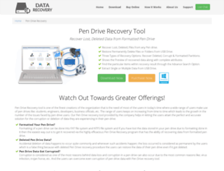 pen-drive-recovery-tool.datarecovery2012.com screenshot