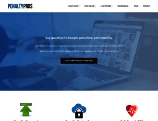 penaltypros.com screenshot