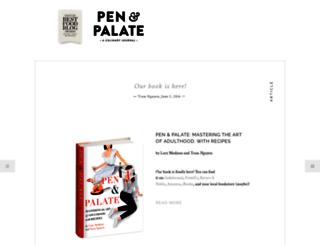 penandpalate.net screenshot