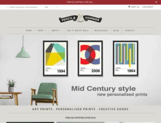 pencilandhammer.com screenshot