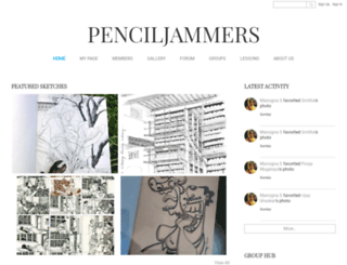 penciljammers.com screenshot