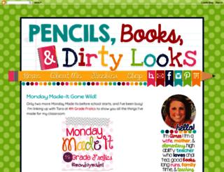 pencilsbooksanddirtylooks.com screenshot