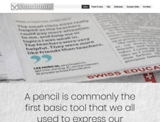 penciltutor.com screenshot