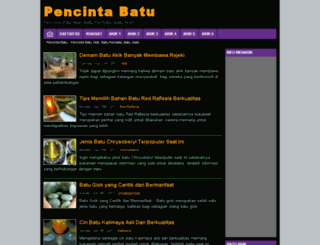 pencintabatu.com screenshot