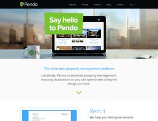 pendorent.com screenshot
