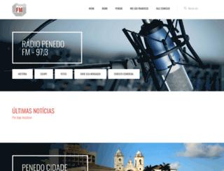 penedofm.com.br screenshot