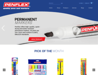 penflex.co.za screenshot