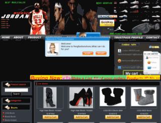 pengfashionshoes.com screenshot
