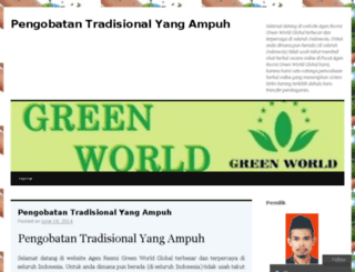pengobatanherbalyangampuh.wordpress.com screenshot