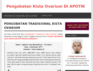 pengobatankistaovarium.web.id screenshot