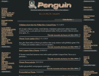 penguin.cz screenshot