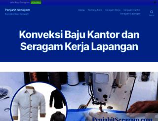 penjahitseragam.com screenshot