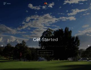 pennanthillsgolfclub.com.au screenshot