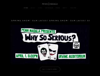 pennmasala.com screenshot
