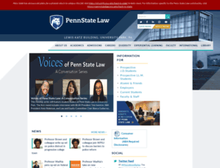 pennstatelaw.psu.edu screenshot